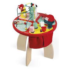 table d activité bébé avec siege table d activités baby forest janod