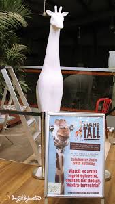 ingrid sylvestre news u0026 events stand tall for giraffes at