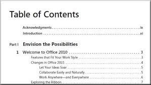 table of contents generator table of contents pdf index generator