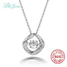 sted necklace i zuan brand fashion 925 sterling silve hollow diamonds