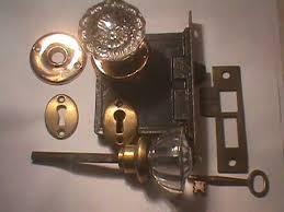 Vintage Glass Door Knobs by Robinson U0027s Antique Hardware Glass Door Knob Sets