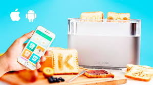 Extreme Toaster Toasteroid U2013 The Connected Toaster That Prints Your Toast For