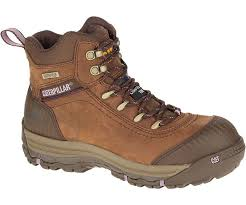 womens steel toe boots nz s comfortable work boots work shoes cat footwear