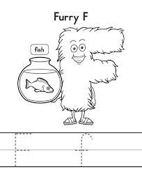 fish b alphabet coloring pages alphabet coloring pages of