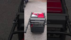 honda eu7000is inverter generator youtube