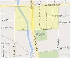 Central Dupage Hospital Map Elmhurst Neighborhoods L W Reedy