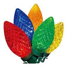 time multi color led c9 lights 100 count walmart