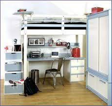lits mezzanine avec bureau génial lit mezzanine avec bureau et armoire stock de armoire
