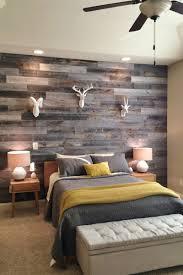 simple square brown wood nightstand rustic bedroom decor ideas