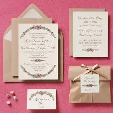 Paper Invitations Staggering Diy Wedding Invitation Ideas Theruntime Com