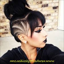undercut length on top ideas about undercut hairstyle for shoulder length hairstyles