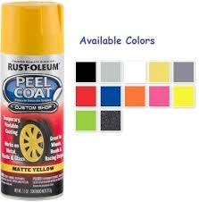 rust oleum automotive peel coat spray paint color spray color