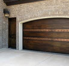 Faux Paint Garage Door - faux painted garage door and fiber core man door to wood finish