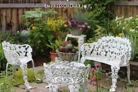 garden art chairs u0026 planters empress of dirt