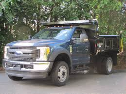 colonial ford truck sales inc 2017 ford f550 duty dump truck in blue metallic for
