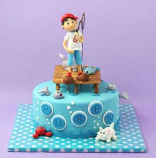 boat cake topper fishing cake ideas inspirations