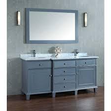 stufurhome cadence grey 60 inch double sink bathroom vanity with
