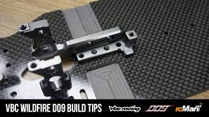 Wildfire 3 Wheel Car Review by Vbc Wildfire D09 Build Log And Tips Part 1 U2013 Team Rcmart Blog