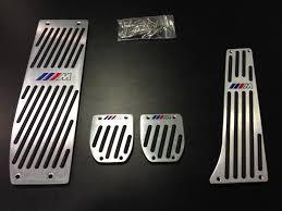 pedales en aluminio para bmw pack m manual pedales coche