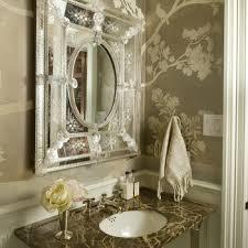wallpaper bathroom designs chair rail design ideas