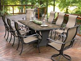 8 Piece Patio Dining Set - patio 62 8 person outdoor dining set patio dining sets