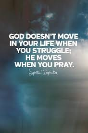 whenever the insistence is on the point that god answers prayer