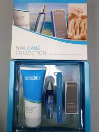 seacret manicure set with cuticle oil buffer hand and body lotion