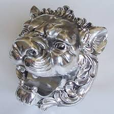 silver lion ring holder images Lion head pewter metallic finish hanging coat hook jpg