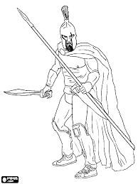 ares coloring pages getcoloringpages