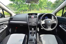 subaru crosstrek interior trunk 2015 subaru xv crosstrek receives updated infotainment options wot