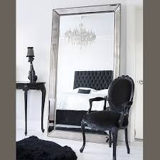 Modern Mirrors For Dining Room by Studded Floor Mirror Glamorous For Either The Master Bedroom Or