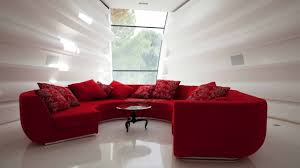 canape forme ronde design interieur idée déco salon canape demi rond couleur