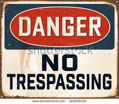 no trespassing sign stock images royalty free images u0026 vectors