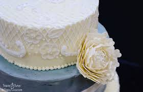 wedding cake lace buttercream lace wedding cake ashlee