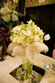 Feather Vase Centerpieces by Feathers And Flowers Centerpieces Google Search Wedding Song
