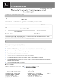 Termination Of Lease Letter 13 Best Images Of Sample Termination Of Tenancy Notice Lease