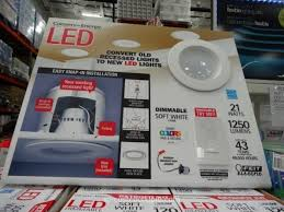 costco led can lights feit electric led 6 inch retrofit kit inside costco led recessed