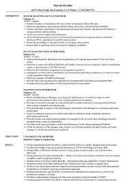 resume template administrative w experience project 211 lancaster maintenance supervisor resume sles velvet jobs