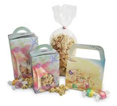 fudge gift boxes mod pac stock packaging summer seashore pattern candy boxes