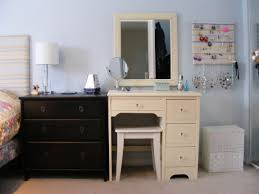 peach colored bedrooms charming diy makeup vanity ikea and table