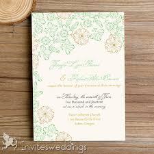 Wedding Invitation Card Spring Wedding Invitations Cheap Invites At Invitesweddings Com