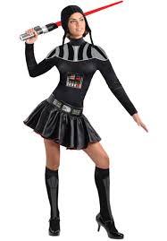 ladies darth vader costume star wars fancy dress for women