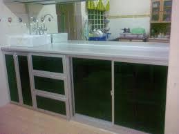 Aluminum Kitchen Cabinets Aluminium Vs Wood Kitchen Cabinets Kashiori Com Wooden Sofa