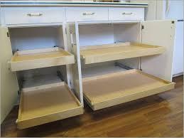 Kitchen Cabinet Rolling Shelves Fascinating Kitchen Cabinet Sliding Shelves Accessories Picture