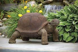 tortoise cement turtle outdoor garden statue turtles