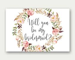 will you be my bridesmaid invitations will you be my bridesmaid printable bridesmaid card