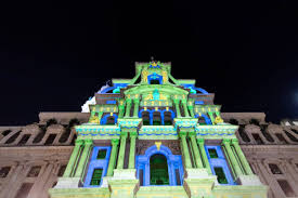 philadelphia light show 2017 daily life in philadelphia photos and images getty images