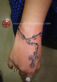 rosary tattoo similar placement design tat ideas pinterest