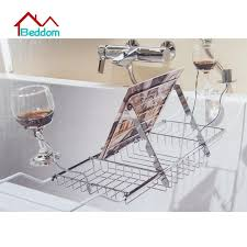 bathtub rack bathroom stainless steel expandable bathtub caddy
