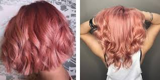 all the ways to rock rose gold hair color this summer matrix com